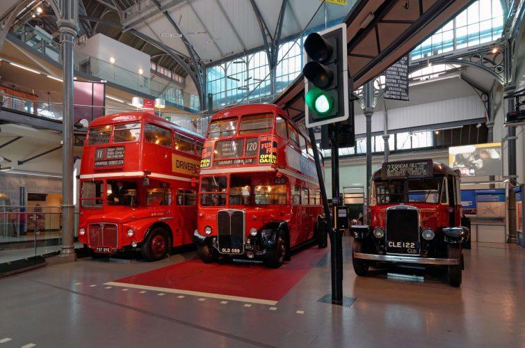 Musée des transports, Londres, Royaume-Uni